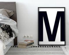 Letter M | ► Letters & Symbolen | Postersinhuis.nl