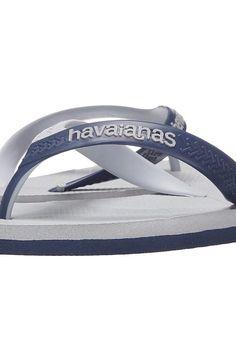 Havaianas Casual Flip Flops (Ice Grey/Navy) Men's Sandals - Havaianas, Casual Flip Flops, 4103276-085, Men's Casual Sandals Sandals, Thongs/Flip-Flops, Casual Sandal, Open Footwear, Footwear, Shoes, Gift - Outfit Ideas And Street Style 2017