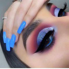 eye makeup art * eye makeup - eye makeup tutorial - eye makeup natural - eye makeup for brown eyes - eye makeup art - eye makeup for blue eyes - eye makeup tips - eye makeup tutorial for beginners Makeup Eye Looks, Eye Makeup Art, Eye Makeup Tips, Cute Makeup, Makeup Goals, Eyeshadow Makeup, Makeup Ideas, Makeup Products, Eyeshadow Palette