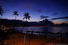 sunset of guam