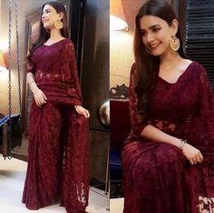 Trendy Sarees, Stylish Sarees, Pakistani Girl, Pakistani Outfits, Party Wear Dresses, Bridal Dresses, Designer Dresses, Designer Sarees, Indian Bridal Outfits