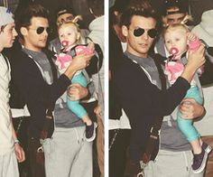 "One Direction -  Louis ""The Tommo"" Tomlinson and Baby Lux ♥ @NickyNarvaez"
