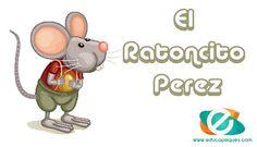 """Cuando a un niño o niña se le caeel primer diente, comienza la aventura del """"Ratoncito Perez"""" Pero, ¿Quién es Storytelling, Homeschool, Learning, Fun, Animals, Fictional Characters, Spain, Tips, Values Education"""