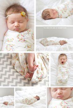 Newborn Bouquet Swaddle Collage2