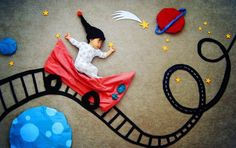 Creative Mom Turns Her Sleeping Baby Into Adorable Works Of Art. See These 47 Amazing Photos. Monthly Baby Photos, Baby Boy Photos, Baby Pictures, Foto Fantasy, Baby Monat Für Monat, Baby Superhero, Foto Baby, Baby Poses, Baby Portraits