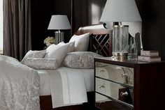 Damask Bed..Check