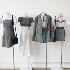 Korean Outfits Ideas photo credits to fb 💞 Kpop Fashion Outfits, Stage Outfits, Mode Outfits, Korean Outfits, Trendy Outfits, Teenage Outfits, Girl Outfits, Korean Clothes, Set Fashion