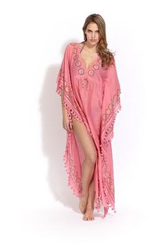 Rissa disco long poncho