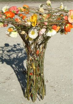 Art Floral, Floral Design, Bunch Of Flowers, Cut Flowers, High Art, Botanical Art, Flower Designs, Flower Art, Flower Power