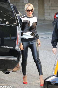 Beyonce's cow-print shirt