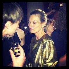 Kate Moss in Fred Party in the palace Ritz in Paris