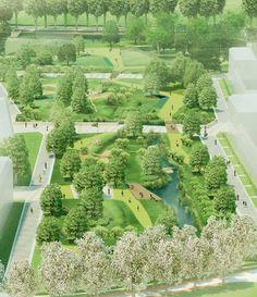 Clementwijk-residental-park-03 « Landscape Architecture Works   Landezine