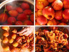 Tomato Chutney, Chutney Recipes, Peach, Fruit, How To Make, Crafts, Food, Manualidades, Essen