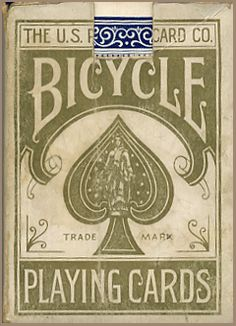 BICYCLE CARDS - US8d