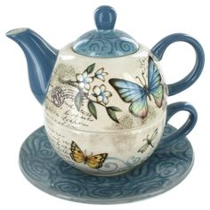 Tea for One Set - Mariposa Garden