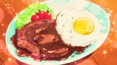 The Happiness Charge Precure! eat loco moco, Happiness Charge Precure!, Episode 28.