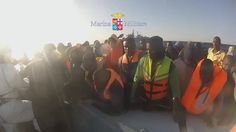 """16 mar 2016 """"#UltimOra #SAR Nave Aviere #MarinaMilitare interviene in soccorso di altri due gommoni in difficoltà https://t.co/gVCBRYsWOs"""""""