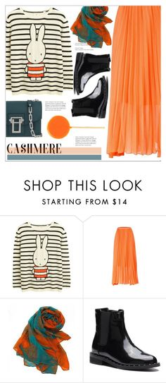 """""""Cozy Cashmere Sweater"""" by meyli-meyli ❤ liked on Polyvore featuring Proenza Schouler, cashmere, yoins, yoinscollection and loveyoins"""
