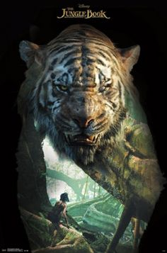 The Jungle Book - Shere Khan Poster Print (22 x 34)