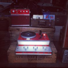 SMUT has the most amazing record player and stereo for sale right now! by kate*, via Flickr