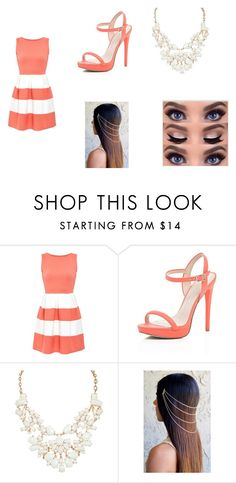 """""""Date Night"""" by loveforever10101 ❤ liked on Polyvore featuring Cameo Rose and River Island"""