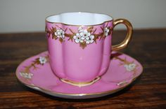Lovely bone china by Coalport of England, 1880's ~