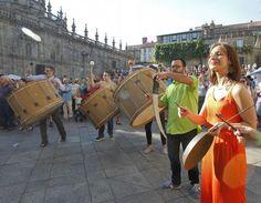 El Certame Folk cautiva al público con la evolución de la música gallega de raíz