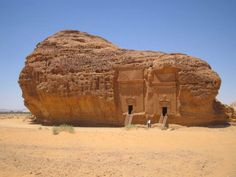 """""""EXPLORING MADA'IN SALEH"""" *** Mada'in Saleh—also known as Al-Hijr or Hegra—is a pre-Islamic archaeological site situated in Saudi Arabia. This place is considered to be the largest Arab Kingdom's settlement after Petra in Jordan, and it can be dated back to the 1st century AD."""