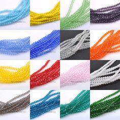 10mm (About 72Pcs) Faceted Austria Crystal Beads charm Glass Beads Loose Spacer Beads for DIY Jewelry Making TRS0138-10 #Affiliate