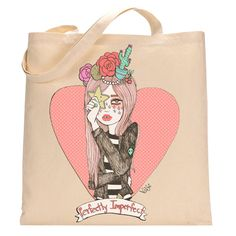 Perfectly Imperfect, Womens Tote Bag, Valfre | Valfré #ValfreWishList