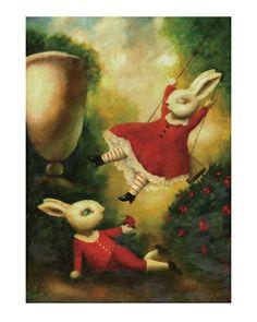 Swinging Rabbits
