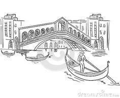 gondola sketch - Google Search