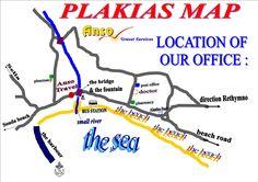 Plakias South Crete-  Plakias tourist information