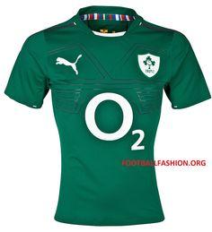 Ireland Rugby 2013/14 PUMA Home Jersey