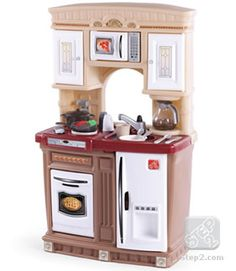 perfect kitchen matches the playhouse much better price than toys r us step 2 is awesome...........LifeStyle™ Fresh Accents Kitchen | Play Kitchens | by Step2