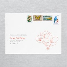 Birthday Party Invitations, Wedding Invitations, Envelope Address Printing, Envelope Sizes, Addressing Envelopes, Think Of Me, Little Boxes, Wedding Stationery, Save The Date
