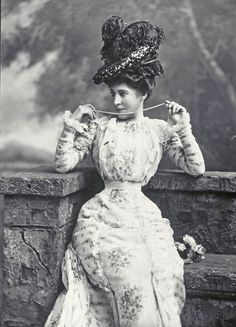 """Lillie Langtry - """"The Jersey Lily"""" - (1853-1929) - Actress, mistress of Edward, Prince of Wales and others..."""