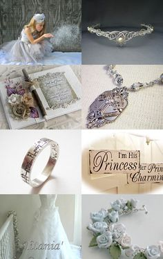 Fairytale Wedding Theme by Marilyn on Etsy--Pinned with TreasuryPin.com