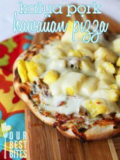 Kalua Pork Pizza - Our Best Bites