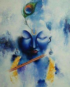 Krishna Janmashtami Wishes, Images, Qoutes, And Messeges Lord Shiva Painting, Ganesha Painting, Buddha Painting, Shiva Art, Krishna Art, Hindu Art, Krishna Flute, Shree Krishna, Radhe Krishna