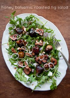 Honey-Balsamic Roasted Fig Salad