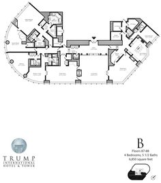 trump international tower and hotel chicago penthouse floor plans | ... : Tallest Towers: Trump Tower Chicago, Realty Kingdom Of Donald Trump