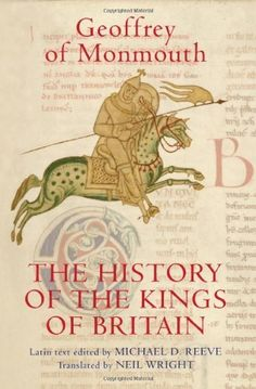 The History of the Kings of Britain: An edition and translation of the De gestis Britonum (Historia Regum Brittannie) (Arthurian Studies) by Geoffrey of Monmouth, http://www.amazon.com/gp/product/1843834413/ref=cm_sw_r_pi_alp_YBXNpb0VRTDKC