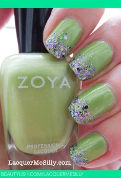 """Zoya """"Tracie"""" with Candeo Colors """"Mallard"""""""