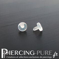 Accessoire microdermal en bio-plastique. The Selection, Piercings, Pure Products, Crop Tops, Plastic, Accessories, Peircings, Piercing, Body Piercings
