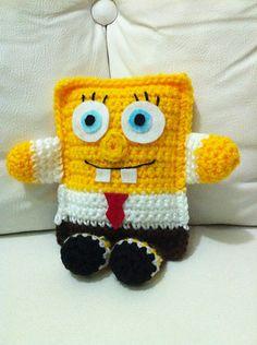 Ravelry: Bob Sponge Little Pillow pattern by Malu de Leon