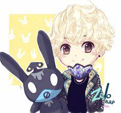 Zelo from B.A.P omg so cute <3