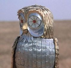 Bubo in Clash of the Titans 1981. It was endearingly awkward and stiff.