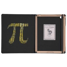 Pi Typed Text Symbol | Geek DODOcase iPad Folio Cases