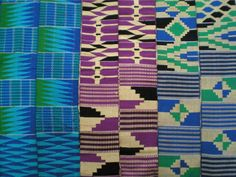 What is Kente?: Ewe kente stripes, Ghana